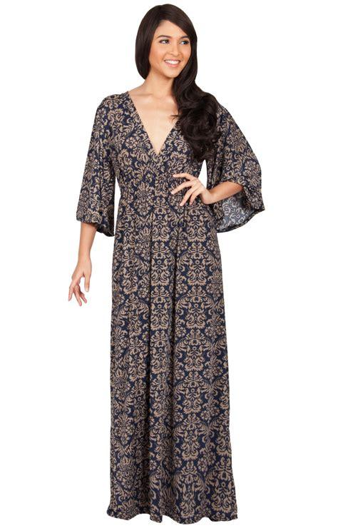 Kimono Maxy hazel v neck kimono sleeve cocktail maxi dress