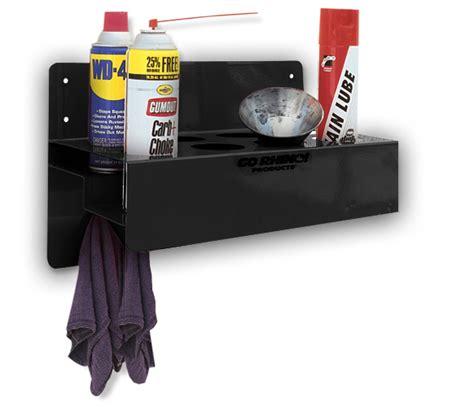 garage supplies aerosol can shelf go rhino 2 row aerosol can holder