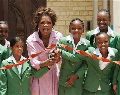 Oprah Opens Second School In Africa by Oprah Opens Academy For Poor In South Africa Reuters