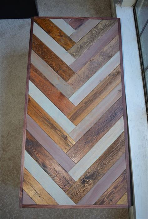 reclaimed barn wood chevron coffee woodworking coffee table patterns woodworking projects