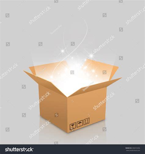 light in the box stock open box outgoing light stock vector 296916356 shutterstock