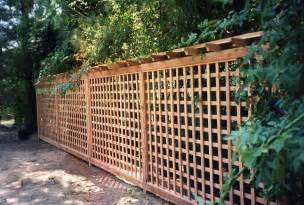 Cheap Garden Fence Trellis Top Cheap Lattice Fence Ideas Jays Redwood Fences Custom
