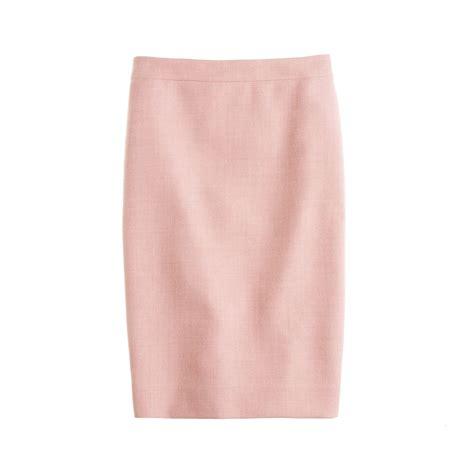 blush pink blush pink pencil skirt fashion skirts