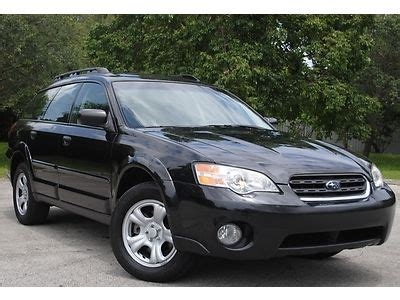 buy car manuals 2007 subaru outback electronic valve timing buy used 07 subaru outback 2 5l 16 valve awd sw extra clean no accidents no reserve in