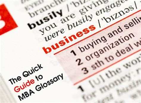 Mba Jargon by Mba Market On The Upturn