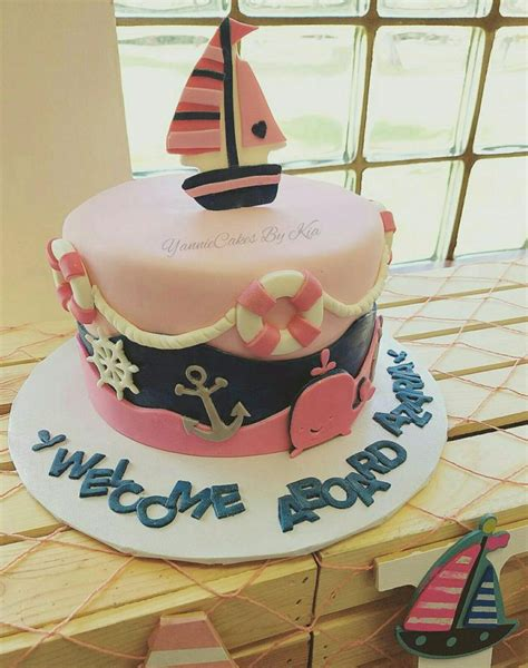 anchor baby shower cake 17 best ideas about shower cake on