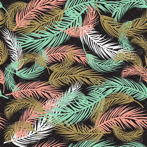feather background feather background retro pattern in pastel colors vector