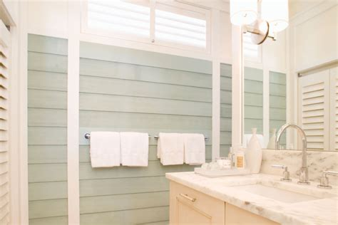 Bathroom Ideas With Wainscoting weiss amp wirth interior design the cabana interior design