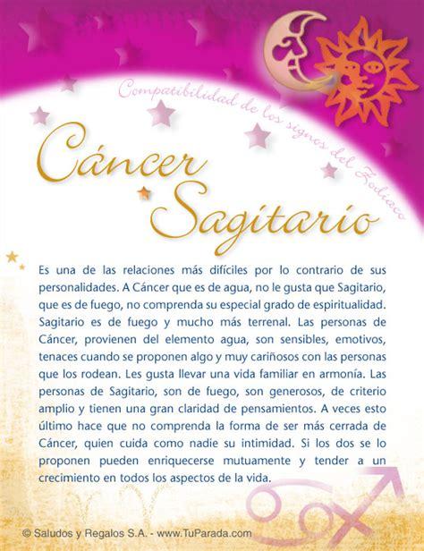 signo cancer en el sexo cancer y el sexo cancer con sagitario