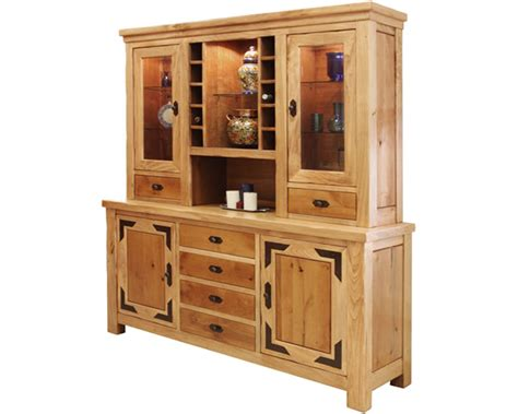 buffet and hutches rustic buffet and hutch rustic lodge buffet hutch set
