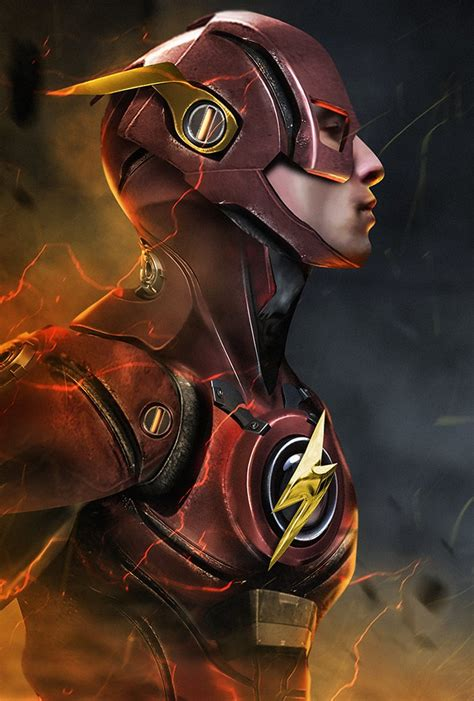 the flash fan ezra miller armors up as the flash fan wb