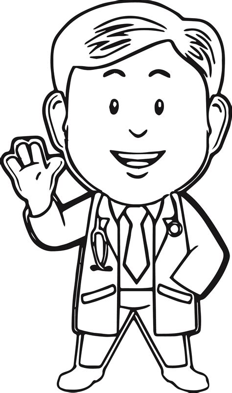 preschool coloring pages nurse nurse doctor colouring pages sketch coloring page