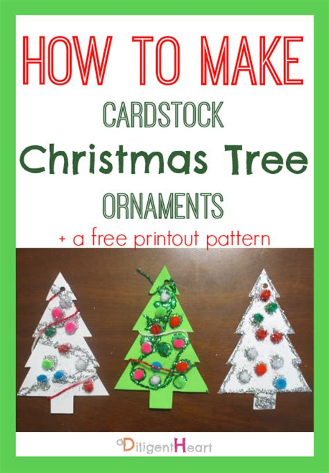 5 days of homemade christmas crafts cardstock christmas