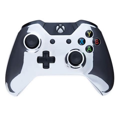 chrome xbox one custom controllers xbox one controller chrome silver