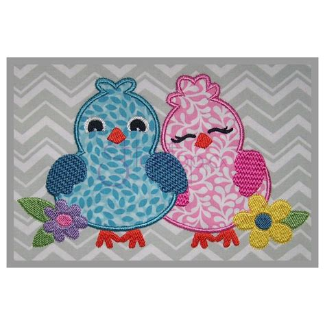 applique designs bird applique design lovebirds stitchtopia