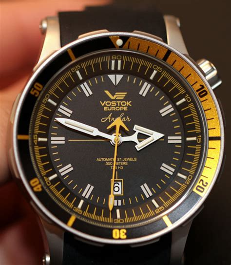 vostok dive vostok europe anchar diver review ablogtowatch