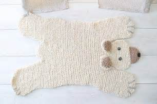 Teddy Bear Skin Rug 75 Modelos De Tapetes De Barbante Para Inspirar