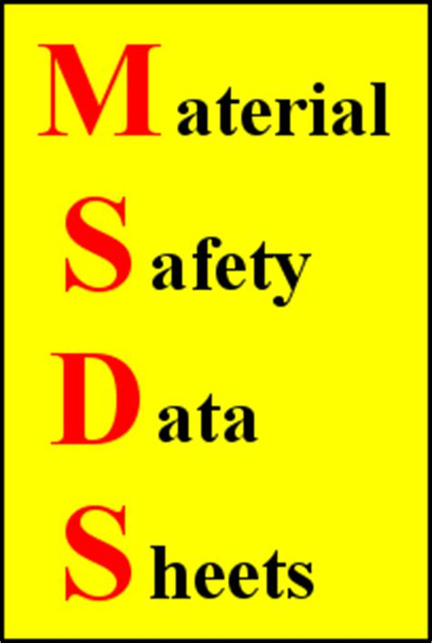 Msds Cover Sheet Template by Msds Innovative Concrete Technology Llc