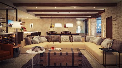 Modern Rustic Living Room Design Ideas Room Design Ideas Rustic Room