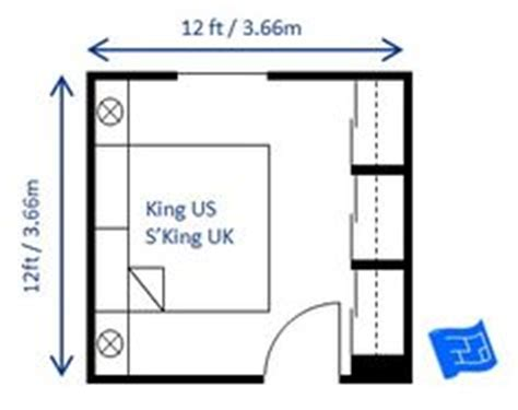minimum bedroom size for king bed 1000 images about master bedroom size and layout no ensuite on pinterest small