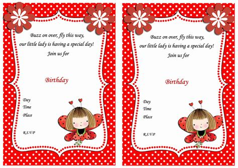 printable ladybug birthday invitations ladybug birthday invitations birthday printable