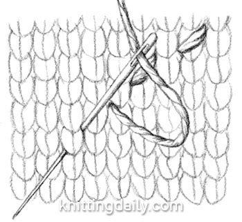 knit stitch diagram running stitch diagram knitting