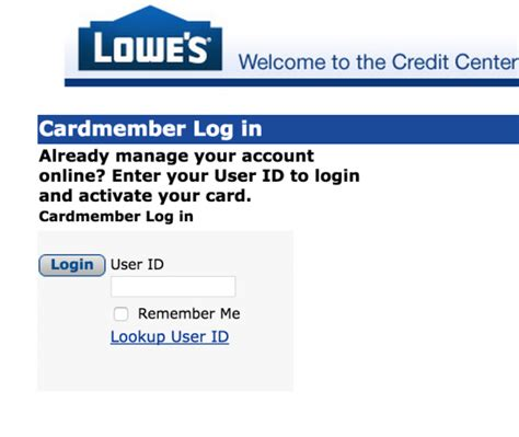 how to make payments on credit cards lowe s credit card login make payment