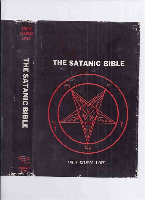 the art book new edition mini format book the satanic bible by anton szandor lavey the rare hardcover 1st edition in dustjacket by