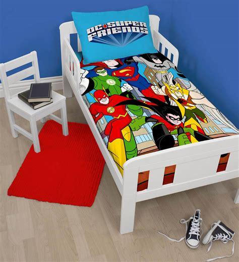 Superman Quilt Cover by New Dc Comics Friends Batman Superman Junior Cot Bed