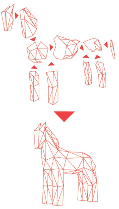 paper horse template images templates design ideas