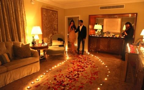 wedding night romance in bed romantic surprise marriage proposal in beverly hills the