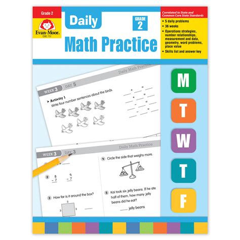 Math Practice Grades 1 2 daily math practice grade 2 math manipulatives