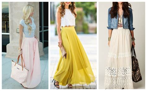 stylehunter collective how to wear a maxi skirt