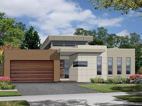 narrow modern homes narrow lot modern house plans modern house