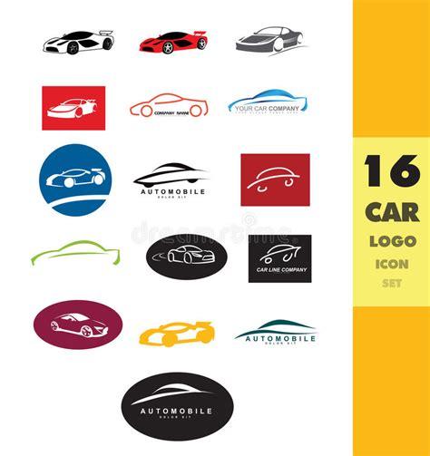 Car Shape Logo Set Stock Vector Image 60153421 Vector Company Logo Element Template