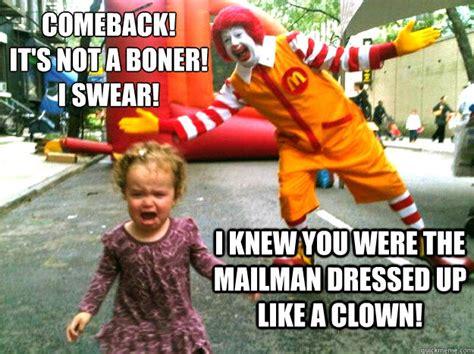 Ronald Mcdonald Meme - scary ronald mcdonald memes