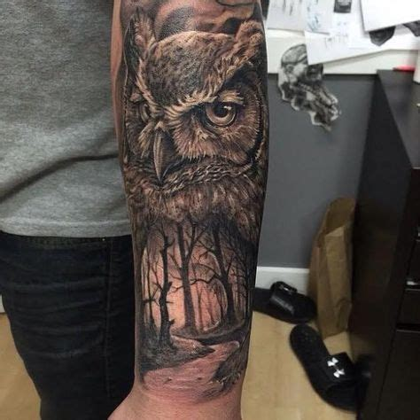quarter sleeve owl tattoo 165 best images about tattoos on pinterest compass