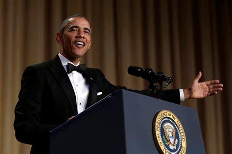 white house correspondents dinner speech white house correspondents dinner 7 things obama addressed during last speech video