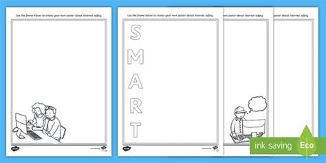 email layout worksheet ks1 safer internet day design a poster worksheet activity