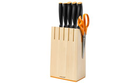 Sharp Kitchen Knives knivblokk i bj 248 rk med 5 kniver