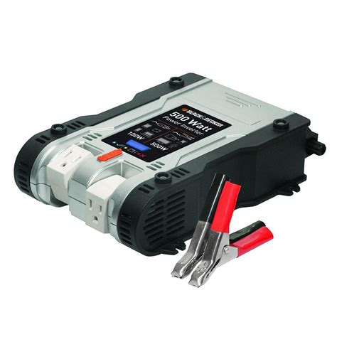 Power Bell 500 Watt black decker 500 watt power inverter pi500p the home depot
