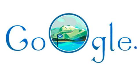 st andrew s day marked with animated doodle proudly