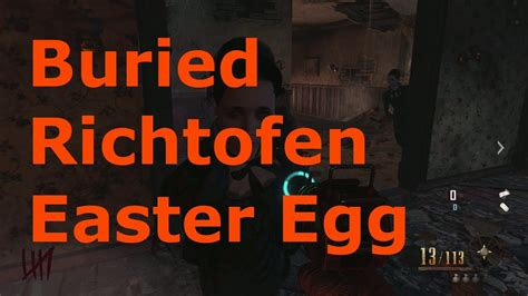 richtofen easter egg black ops 2 zombies buried richtofen easter egg guide