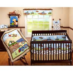 garanimals 4 crib bedding set travel time