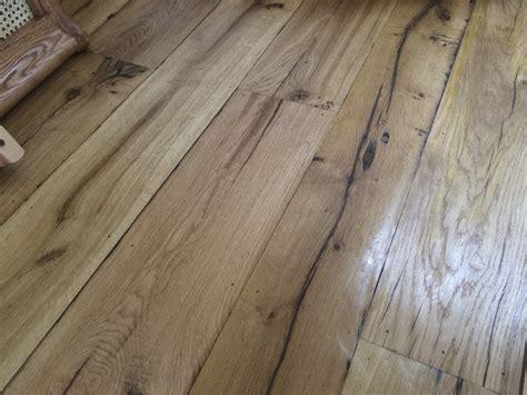 Cottage Flooring by Reclaimed Oak Floorboard For Harbour Side Cottage Wood Flooring