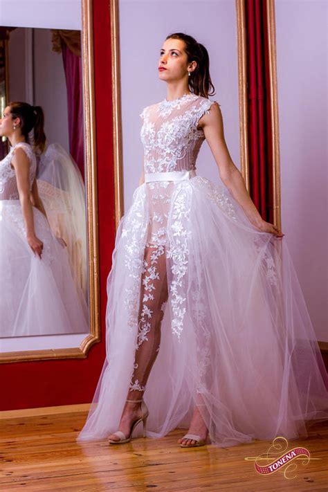 Wedding Dress Jumper by Wedding Jumpsuit In White Lace Wedding Romper Birdal Or