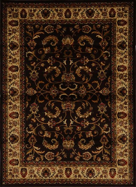 fancy rugs traditional border area rug 5x8 carpet actual 5 2 quot x 7 2 quot ebay