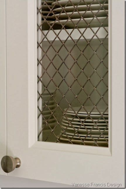 pin  wire mesh inserts  cabinets