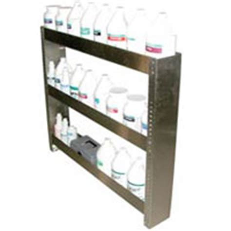 Chemical Shelf by Prochem 8 697 002 0 Chemical Shelf Stainless Steel 3