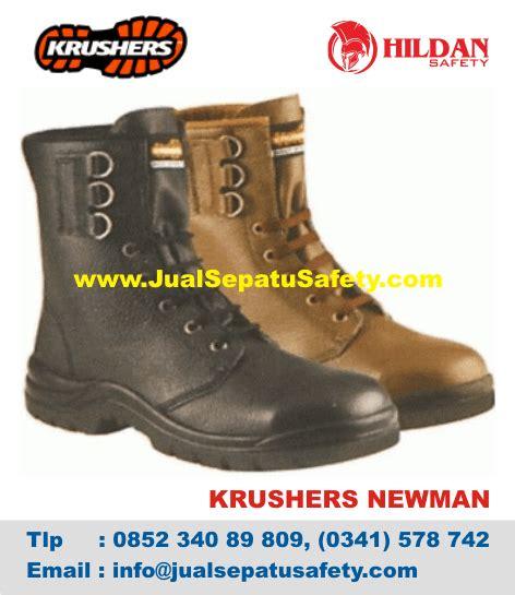 Sepatu Safety Krusher Newman sepatu krushers pdl boots safety tinggi bertali jualsepatusafety